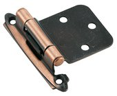 Amerock BP7630AC Antique Copper Variable Hinge from the Self-Closing Collection